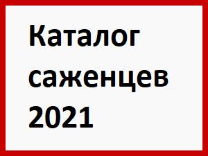 каталог саженцев 2021